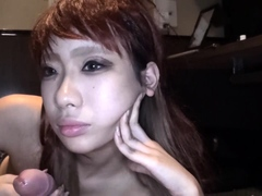 Cute Japanese Teen Cant Keep Her Hands Off Cocks
