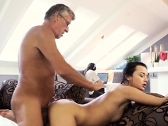 Secretary seduces old boss But he was stuck with his PC
