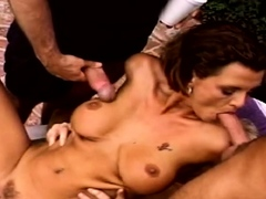 Swinger 3some For Horny Housewife That Arouse Each Other