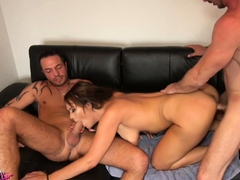 german-amateur-milf-homemade-threesome-with-creampie-mmf