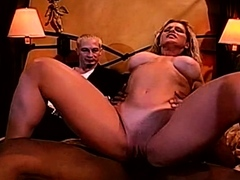 Interracial BBC For Pretty Blonde Swinger Feeling Arouse