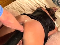 double-fist-and-colossal-dildo-fucked-wife