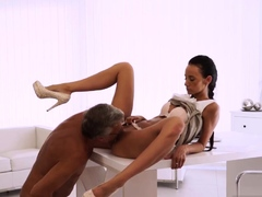 Old Man Creampie And Russian Fucks Young Anal Finally