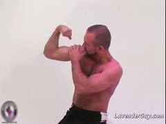 Buff Gay Bear Josh West Showing Part3