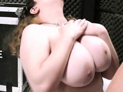 fat-pussy-fingering-and-titjob-at-work