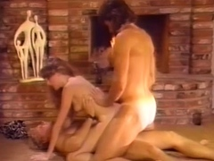 Threesome Hard Double Penetration Anal Sex