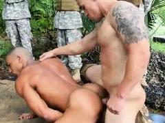 Free shaven cocks gay sex Jungle plow fest