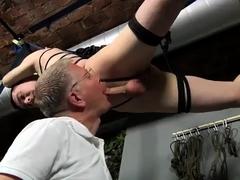 Chinese boy bondage gay He'd already had a bit of