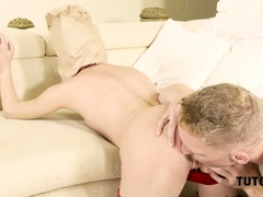 tutor4k-man-comes-to-teacher-and-ties-legs-cause-its