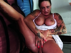 Macho guy pick up flirt and fuck public a housewife