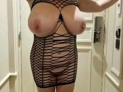 slut Lateshay in gangbang outfits big tits