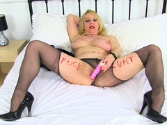 UK mature Lucy will be your ultimate fuck slut in tights