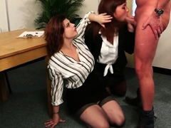 cockhungry-cfnm-babes-blowing-subject-in-office