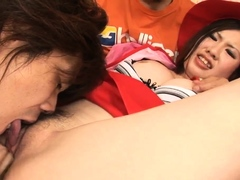 Strong Threesome Hardcore With Naked Momoka Amai