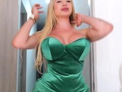 Kinky Big Tits TBabe CandyShe on Webcam, Part 2