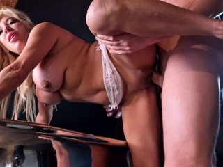 GERMAN SCOUT - FIT MATURE MONICA PICKUP AND FUCK ON STREET