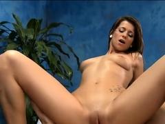 Classy brunette gal Mali Myers enjoys deep fuck