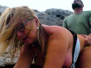german blonde housewife fuck outdoor