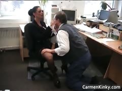 Sexy Kinky Carmen Spanks And Rides Her Part5