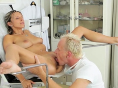 Charming blonde cutie Tracy blows and rides