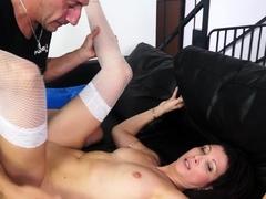 AmateurEuro - Hot Italian brunette Luna Oara ass fucked