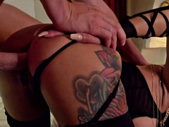 GERMAN SCOUT - ROUGH ANAL SEX PICKUP CASTING FOR SLIM MILF