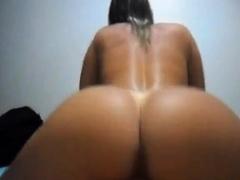 Brazilian big ass creampie