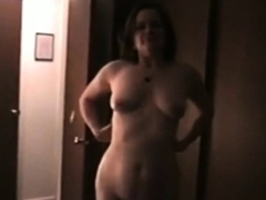 Marion stripping in hotel room