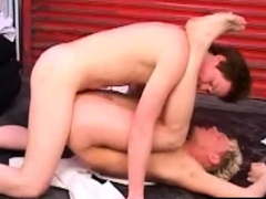 Blond Twink Tasting Sperm After Breeded