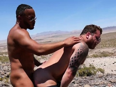 BAREBACKTHATHOLE Black Dillon Diaz Raw Breeds Riley Mitchel