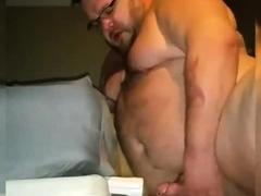 Top chubby training his fucking skills