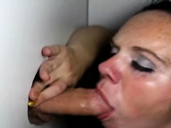 Gloryhole sex is totally COVID safe