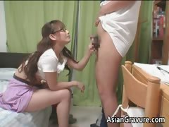 Sexy Asian With Big Breasts Home Teacher Part3